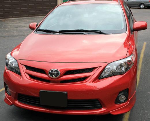 Toyota Corolla glass repair/replacement
