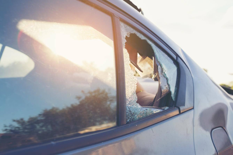broken rear vent window
